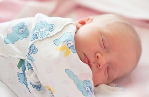 Bebé durmiendo CRIAME