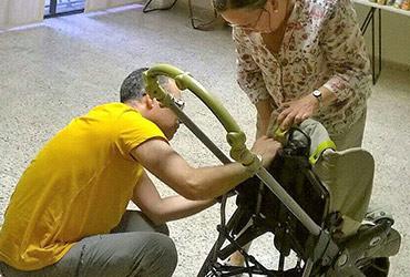 Reparamos y limpiamos carros de bebé